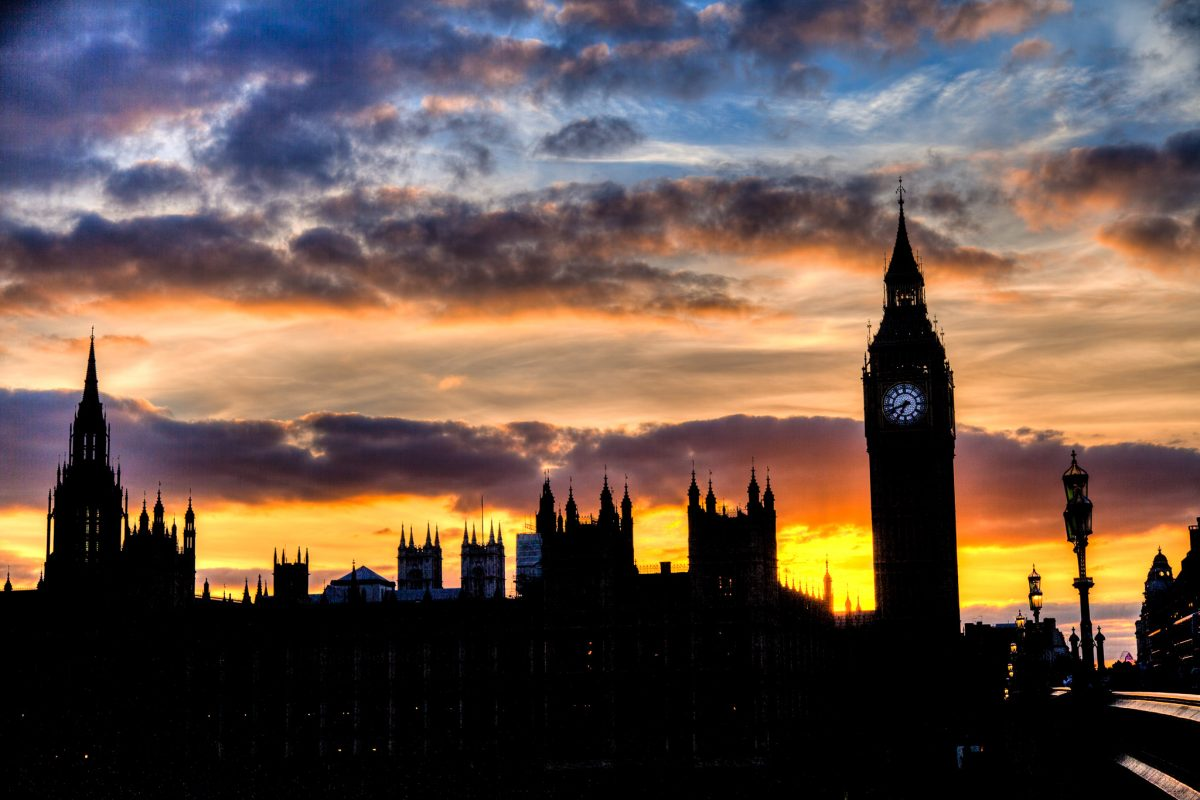 London Sunset -- 2013