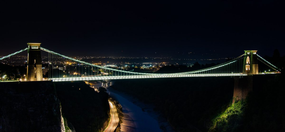 Clifton Suspension Bridge, Bristol, UK -- 2013