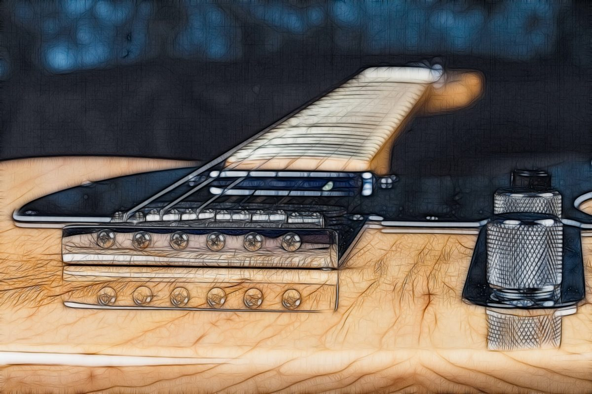 Fractalized Telecaster -- 2015