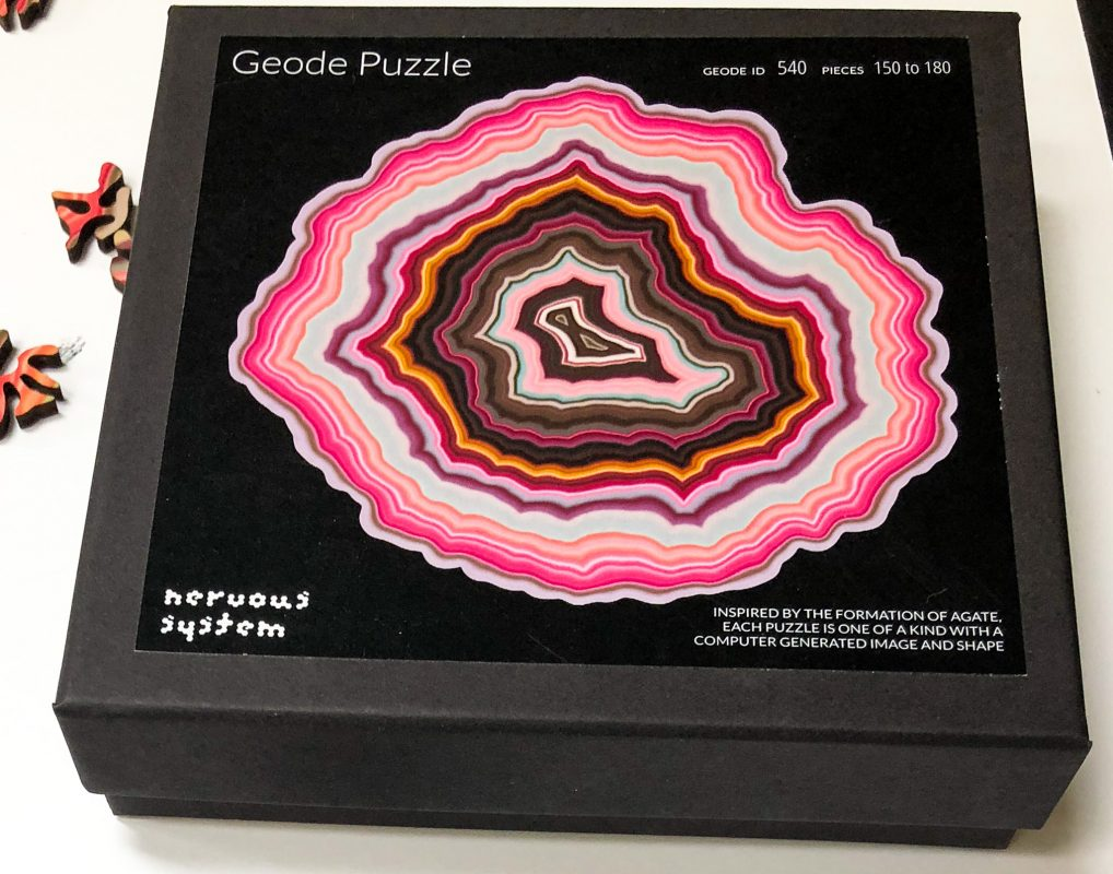 Geode puzzle by Nervous Systems