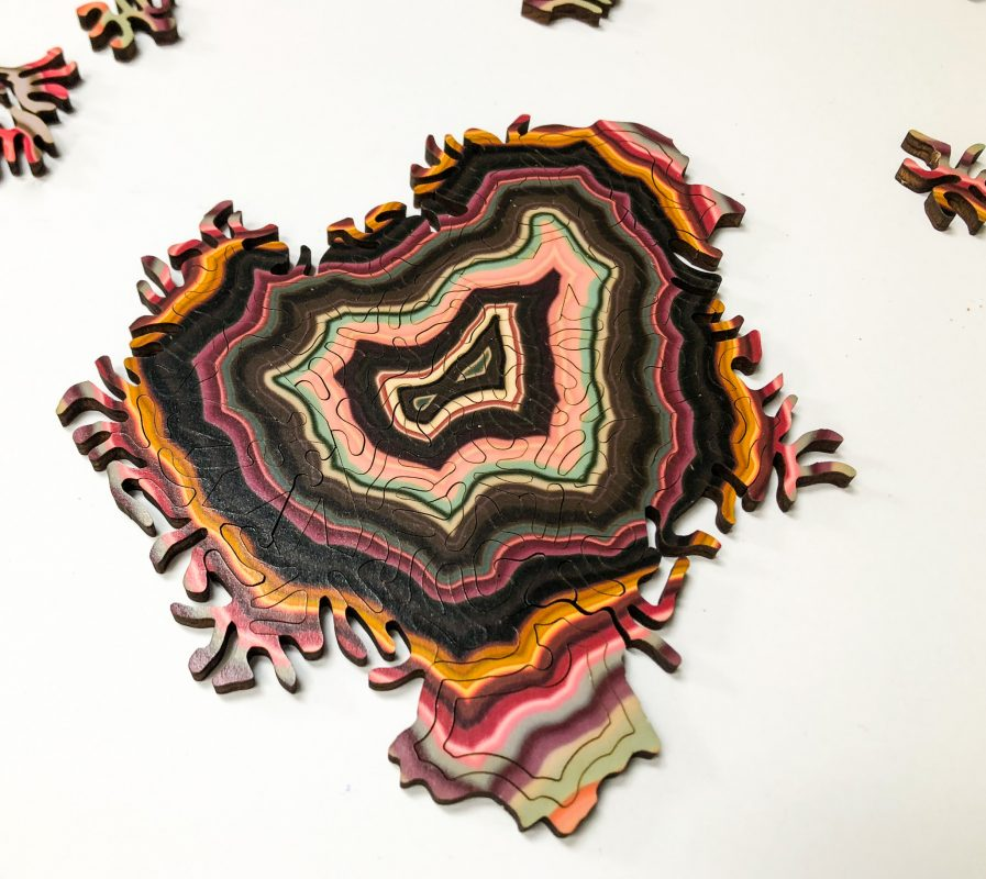 Geode Puzzle - Almost Finished!