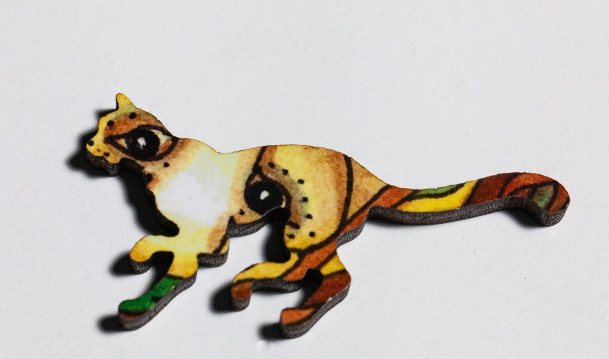 Bison Puzzle Whimsy -- Wildcat