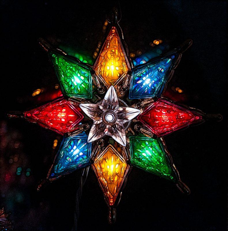 Christmas Star, Fractalized