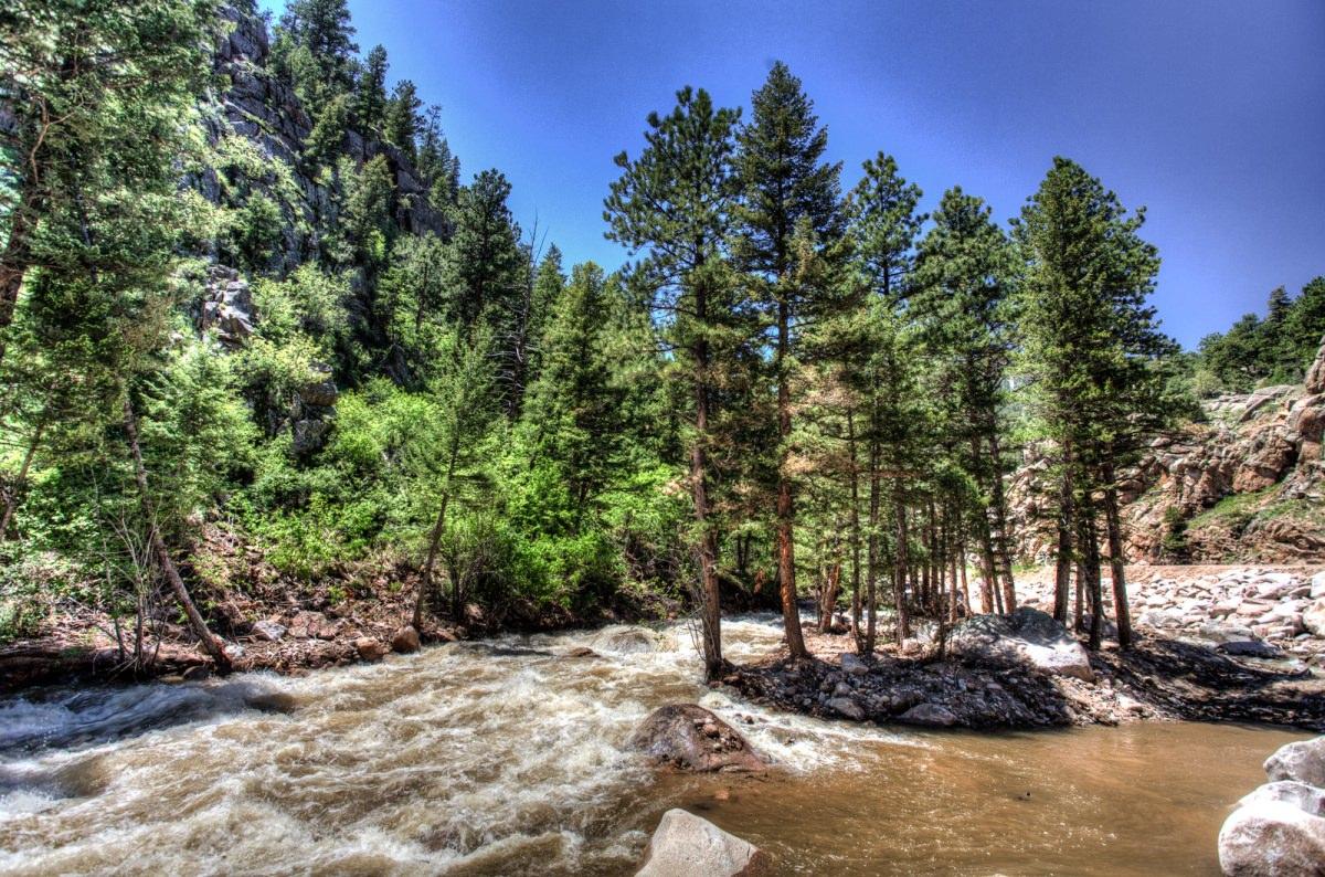 Raging Colorado Creek