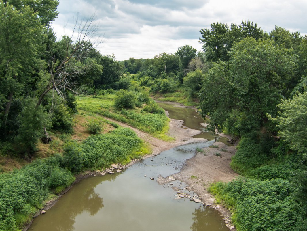Prairie Spirit Trail, Creek View