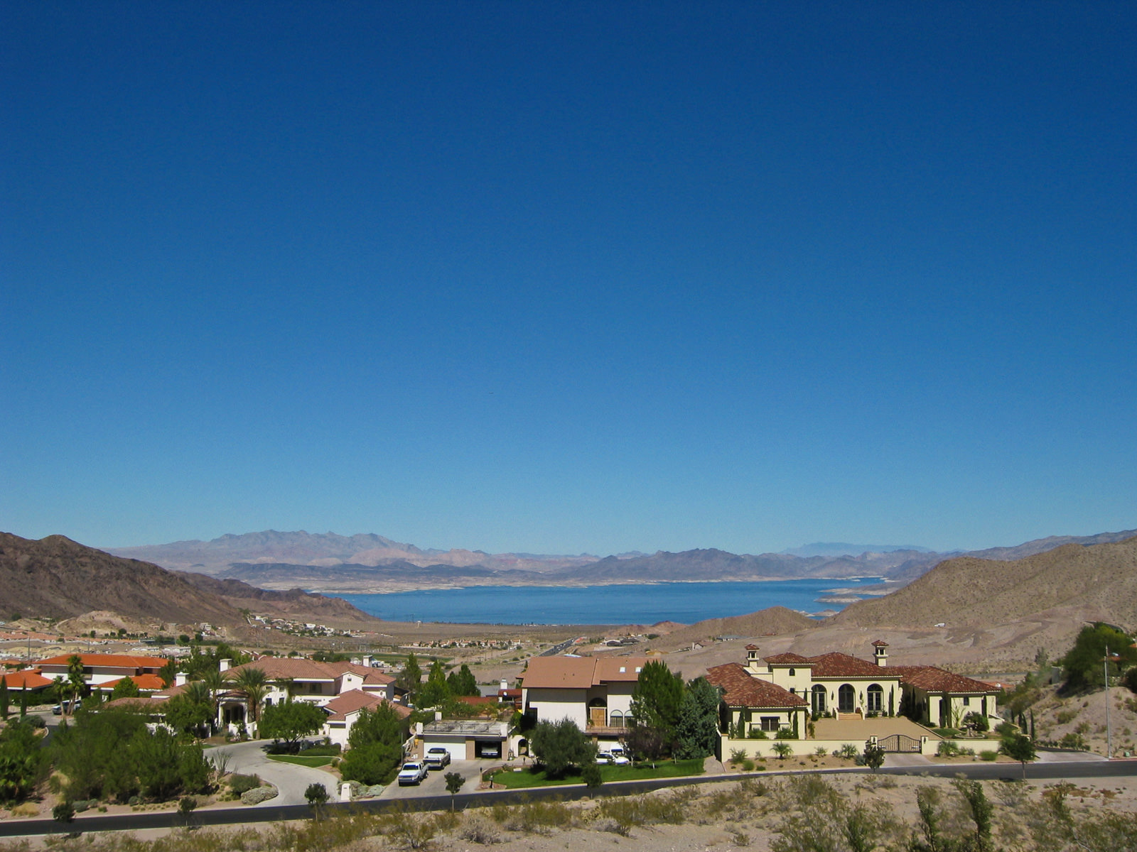 Near Lake Meade