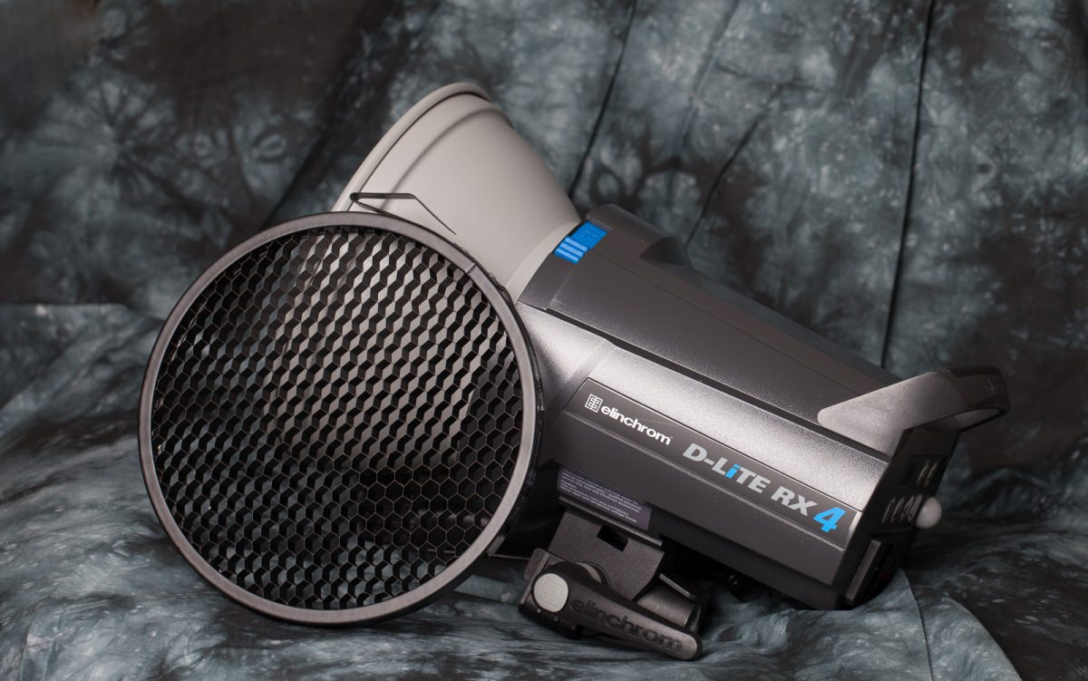 Elinchrom D-LiTE RX 4 in the studio