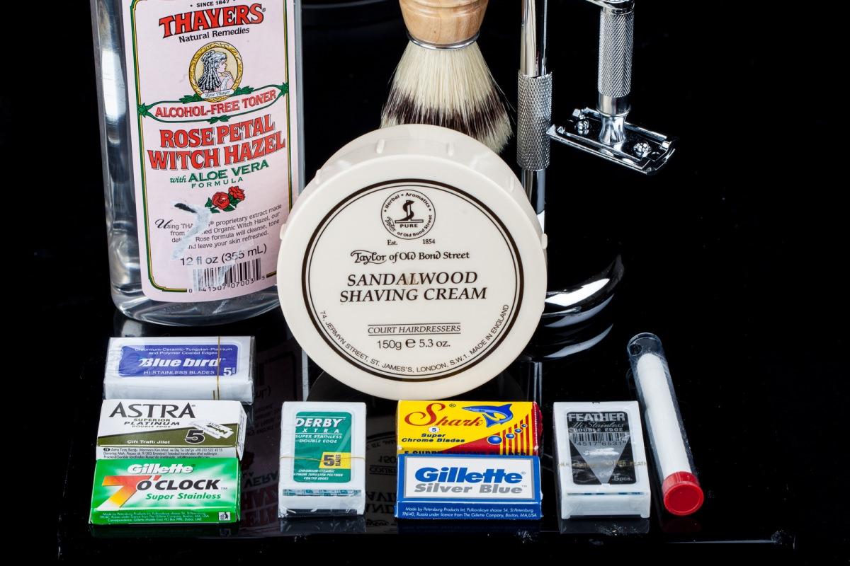 Double Edge Shaving Kit