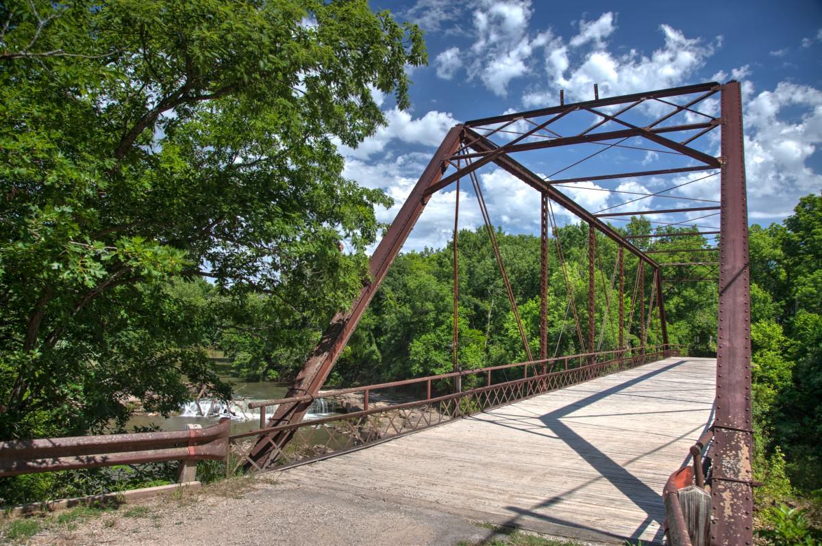 Elk Falls, southeast Kansas