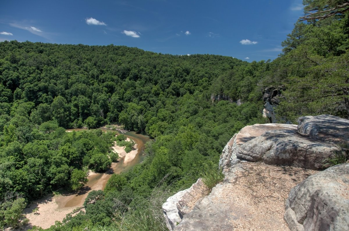 Kings River Overlook, NW Arkansas