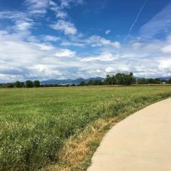 View from Louisville Bike Trails