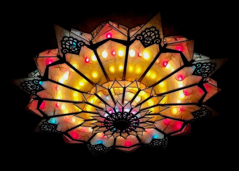 Art Deco light, Stiefel Theater, Salina KS