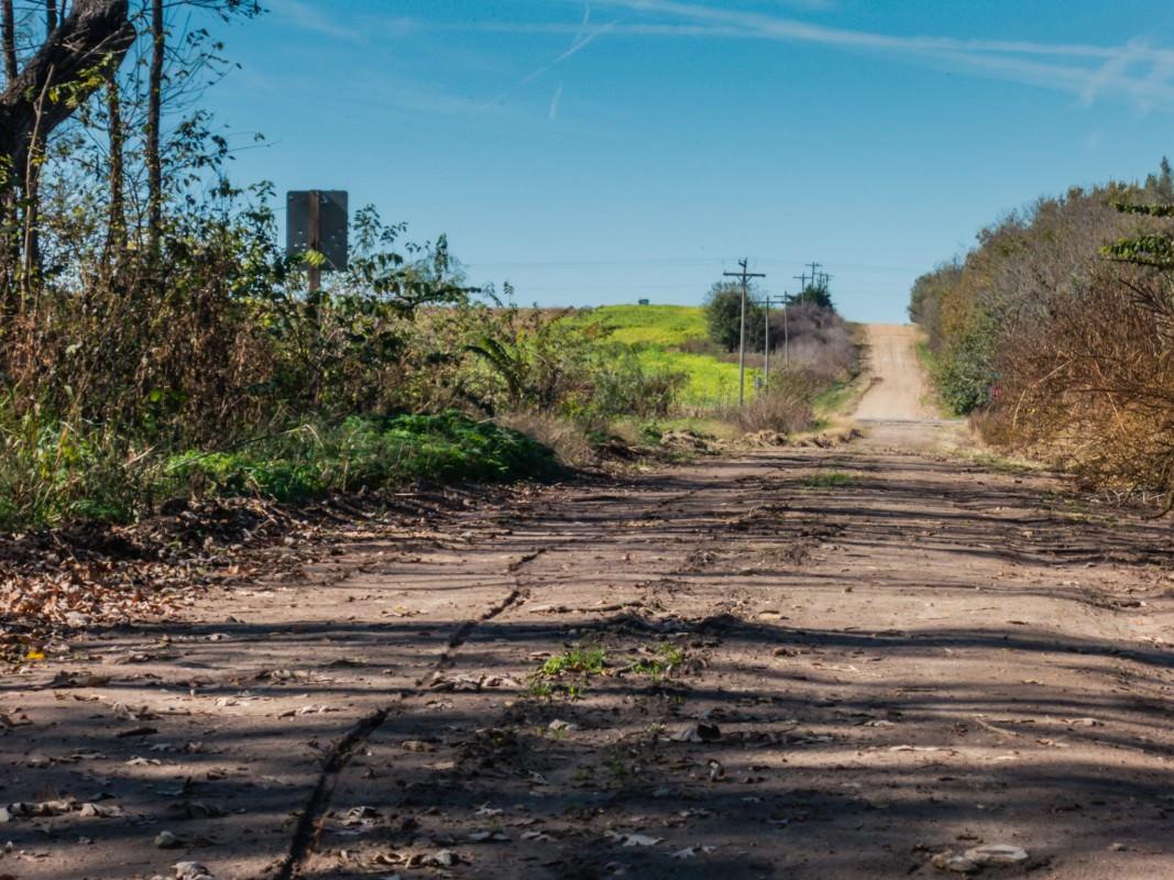 Quivira Rd Crossing, Looking west