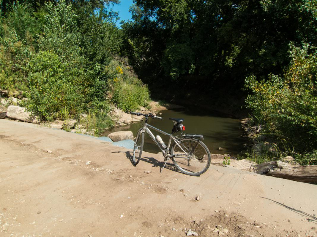 Creek on Quivera Road