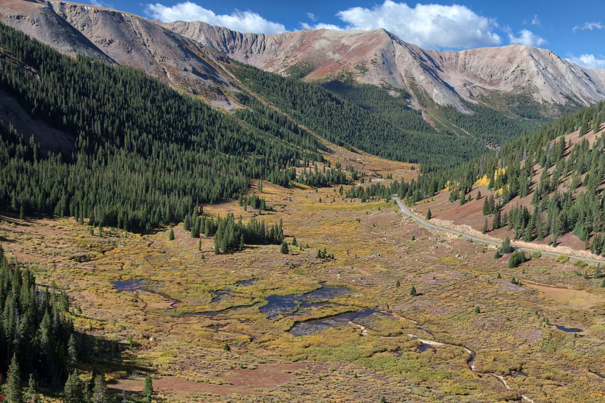 Road to Independence Pass
