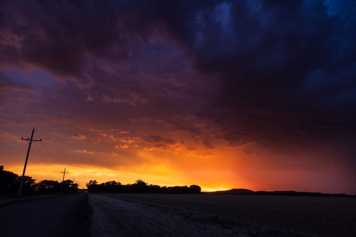 2017 Favorites: Kansas Sunset