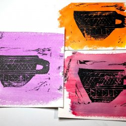 Linocut Palette: Start to Finish