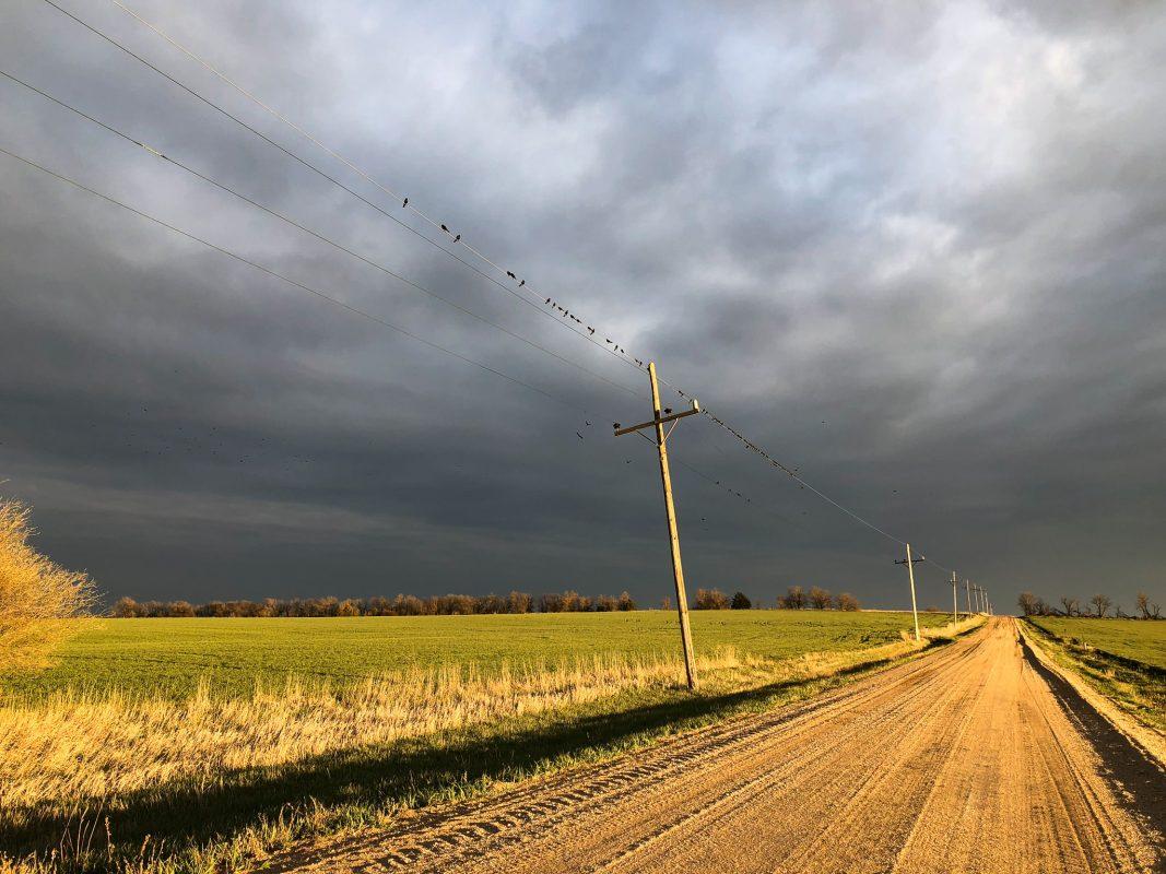 Dark Skies, Country Road