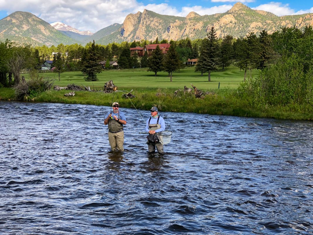 Fly Fishing near Estes Lake
