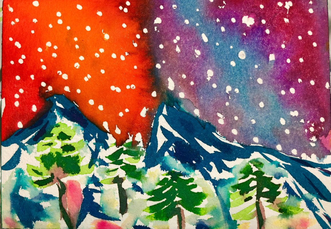 Rocky Mountain Stars/Snow