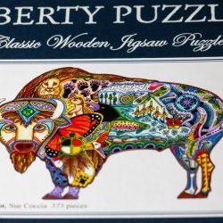 Bison Puzzle Box