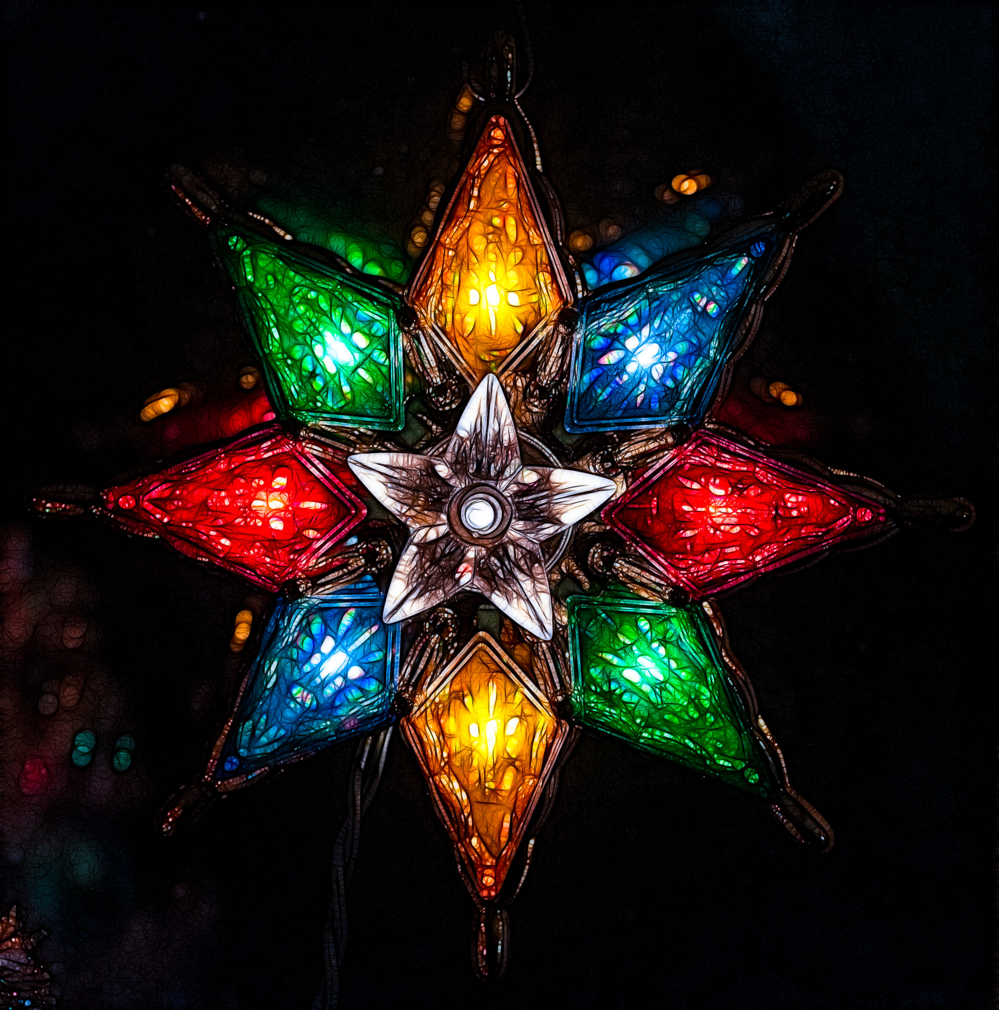Christmas Star, Fractalized