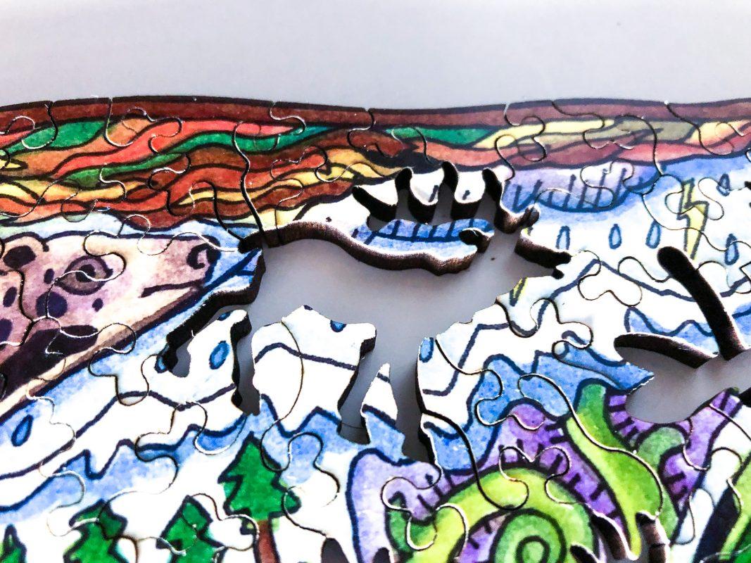 Bison Puzzle: Elk whimsy