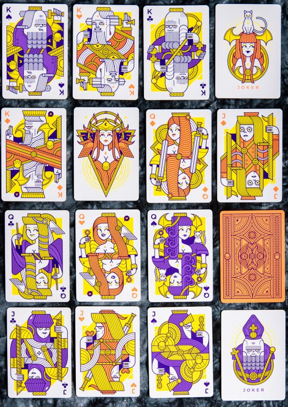 Lunatica Solstice: Royalty (aka face cards)