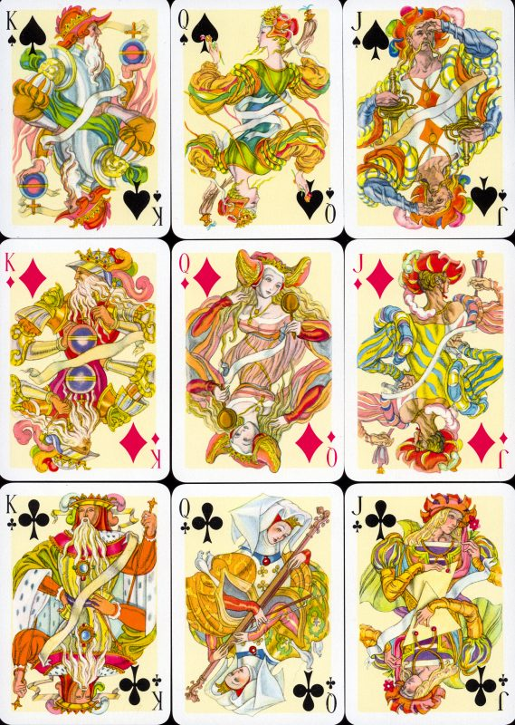 Tejada cards, spades, diamonds and clubs