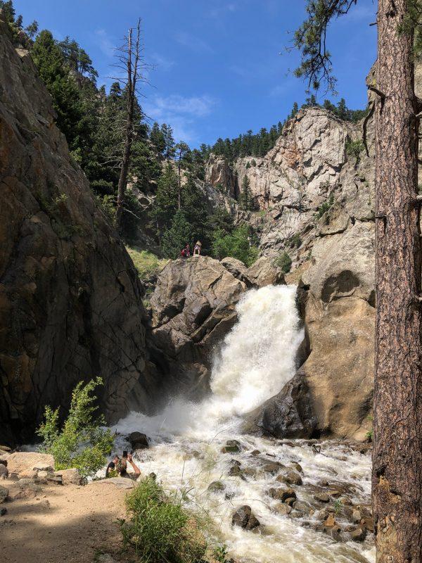 Boulder Falls, July 4th 2019