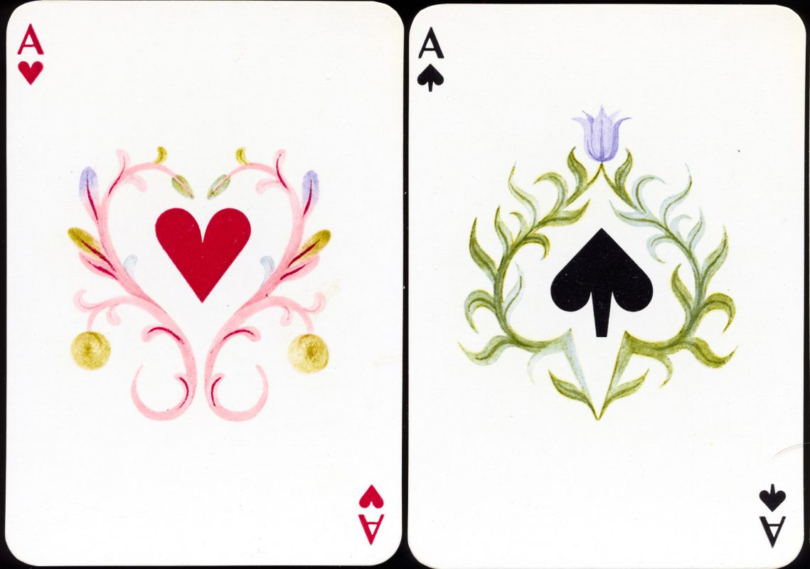 Cassandre for Hermès - Aces of Hearts/Spades