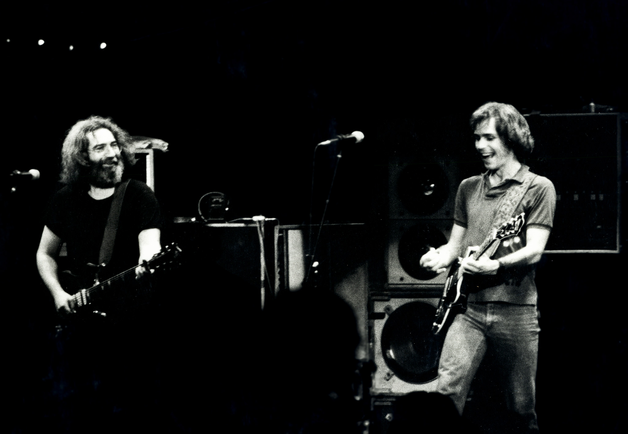 Jerry & Bob at the Warfield Theater, SF in 1980
