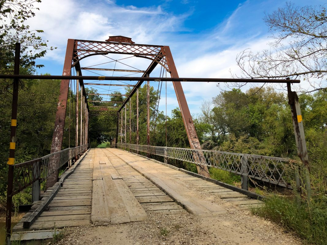 Iron Bridge south of Douglass