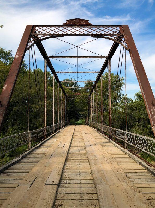 Iron Bridge south of Douglass