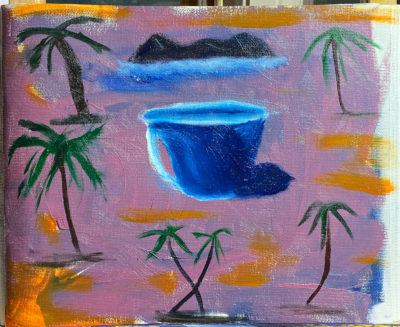 October Oil Painting