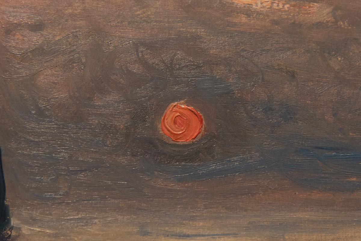 Sunset Over the Ocean (detail)