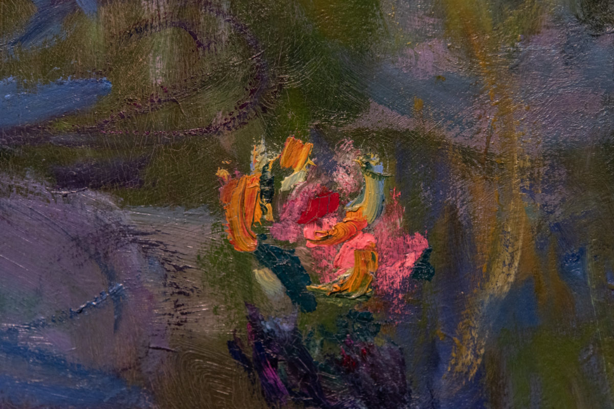 Waterlilies (detail)