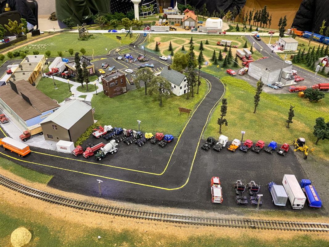 Wichita Model Train Show Track Layouts