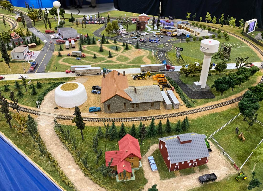 Wichita Model Train Show Track Layouts