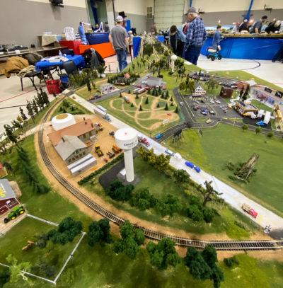 Wichita Train Show Track Layout Photos