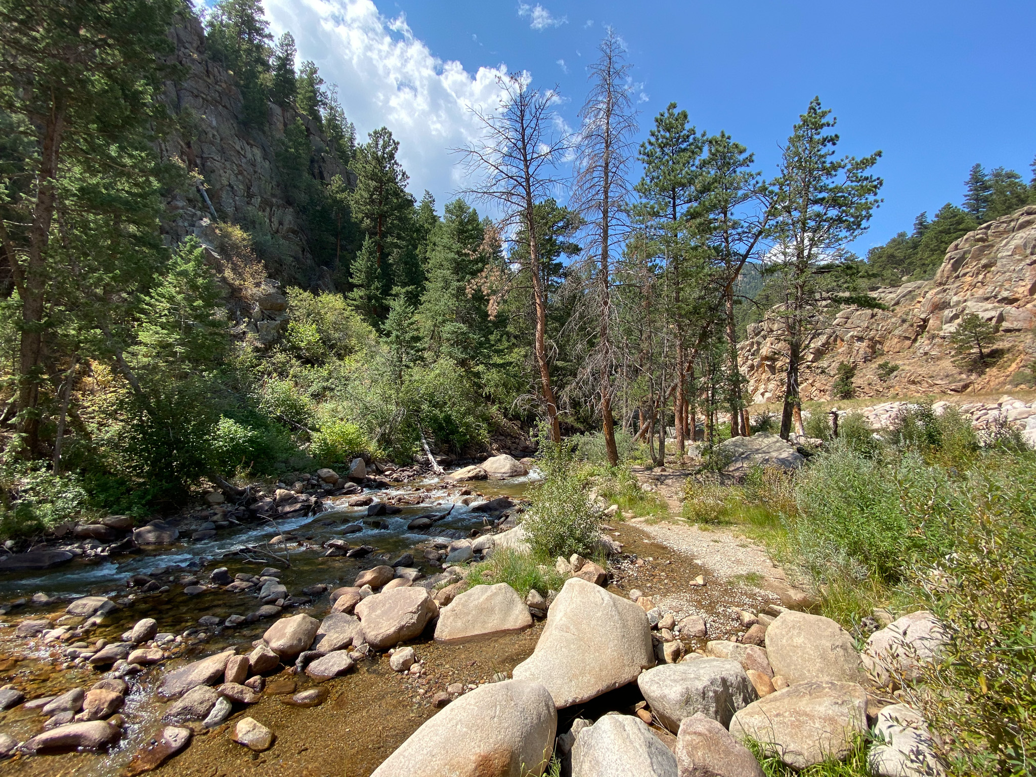 South Saint Vrain Creek