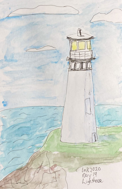 Inktober Day 19 - Lighthouse