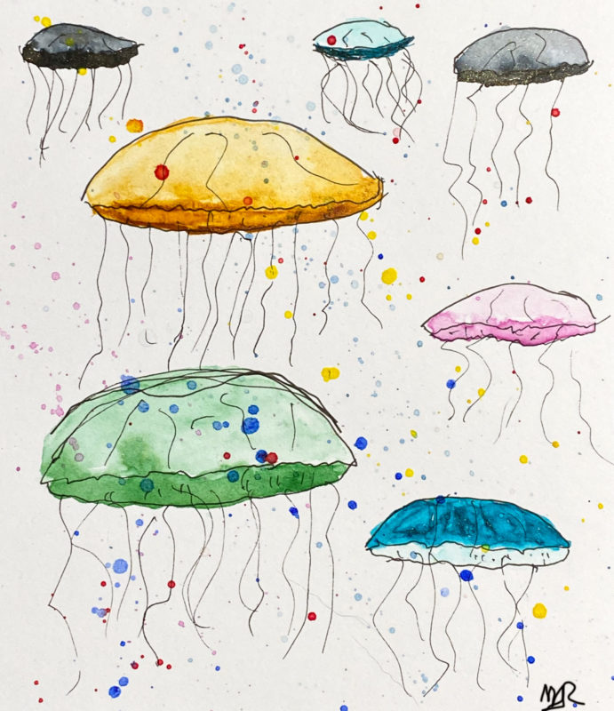 Inktober Day 26 - Jellyfish