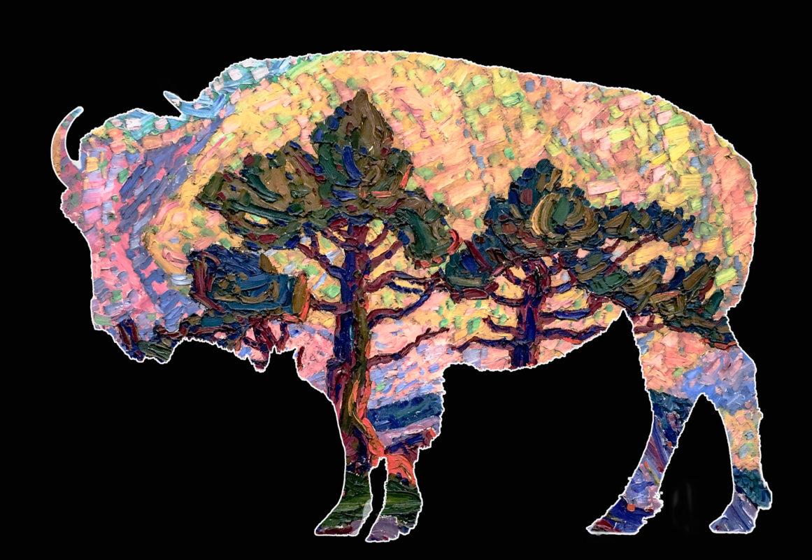 Bison Views -- Bison Birger