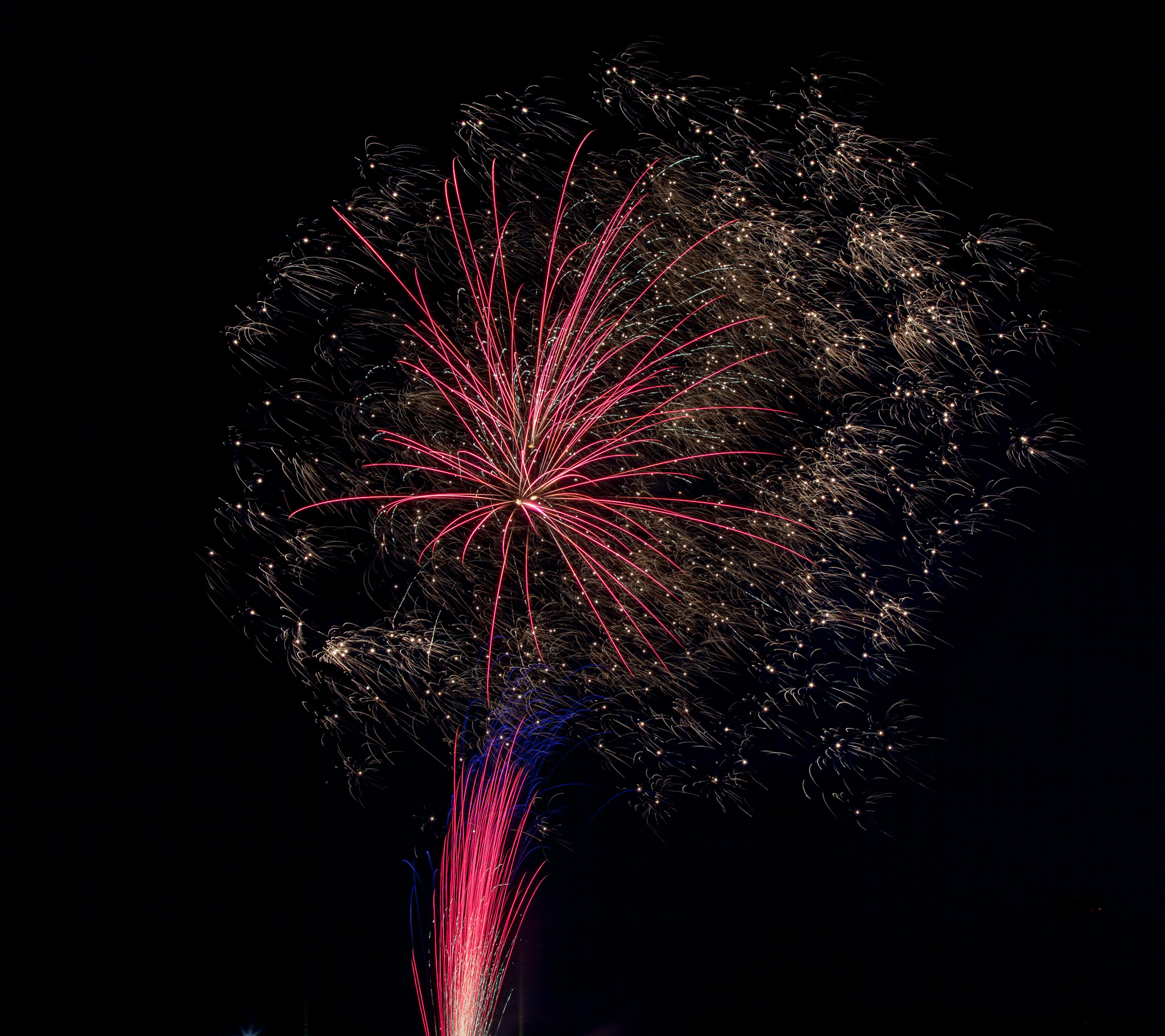 Fireworks from the Past