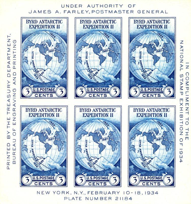 Farley - Byrd Expedition - 1934