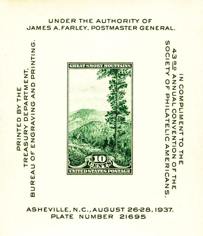 Farley - Philatelic Exhiibition - 1937