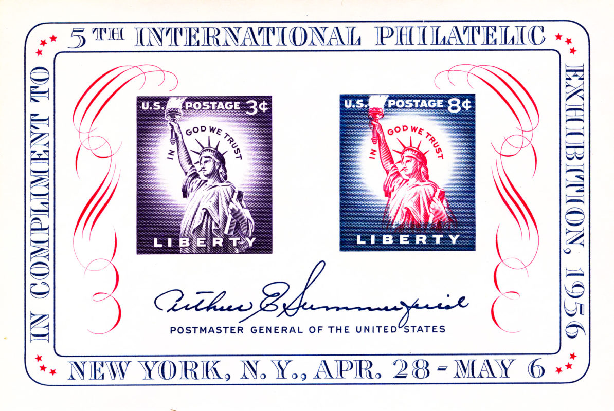 5th International Philatelic Exhibition - 1956