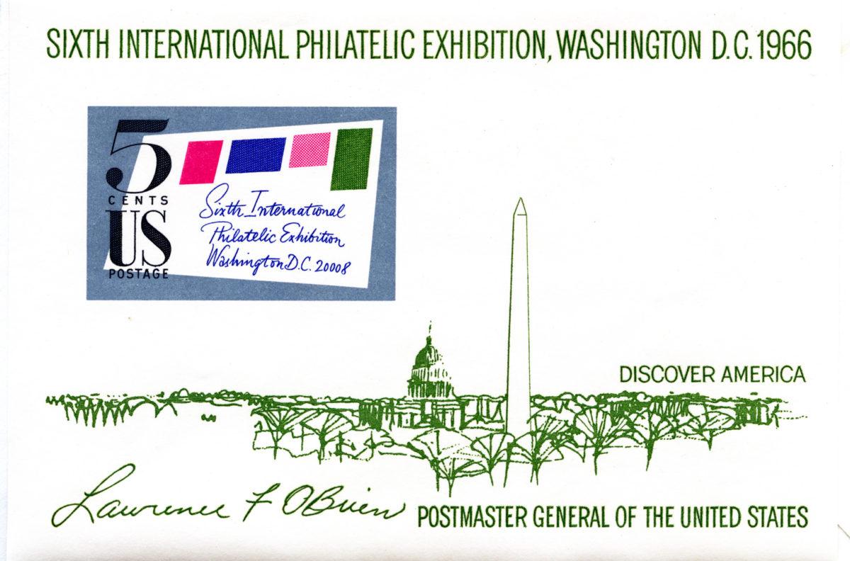6th International Philatelic Exhibition - 1966