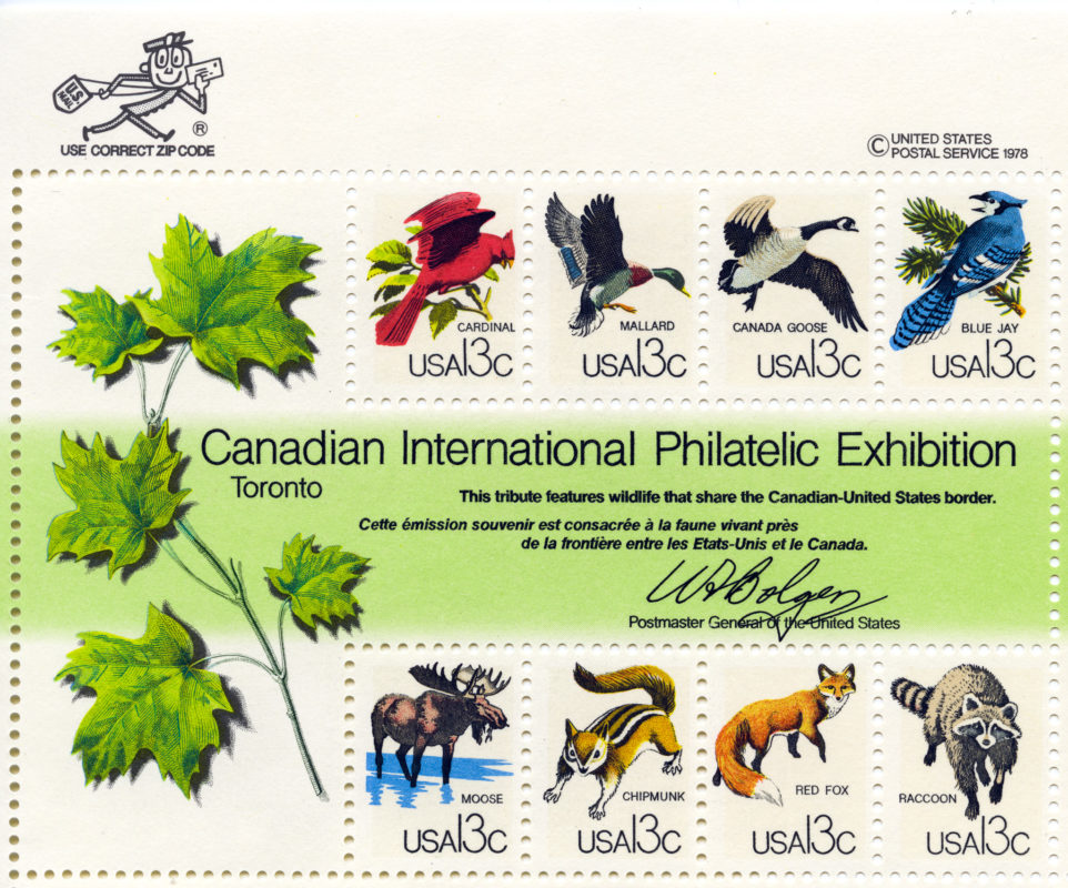 Canadian International Philatelic Exhibition - 1978